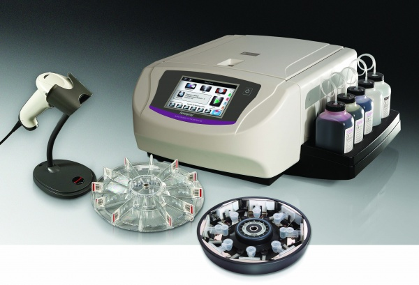 Aerospray® Gram Series 2 Automated Gram staining system that provides rapid, standardized results for all types of specimens