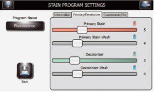 TB programming menu